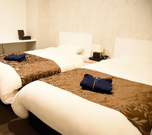 CARNA A ツインベッドルーム